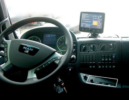 teledrive mit truck navi ist richtungsweisend f r lkw. Black Bedroom Furniture Sets. Home Design Ideas